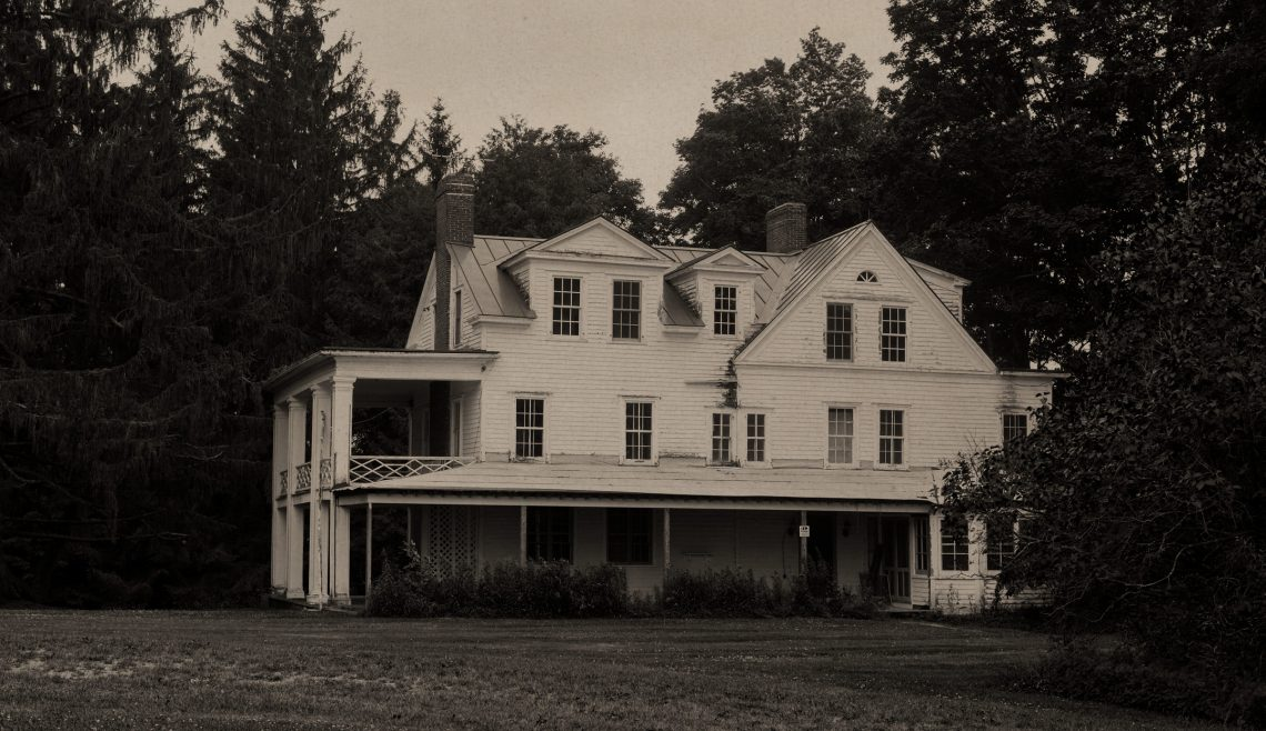 Old photo of Clausen Farmhouse