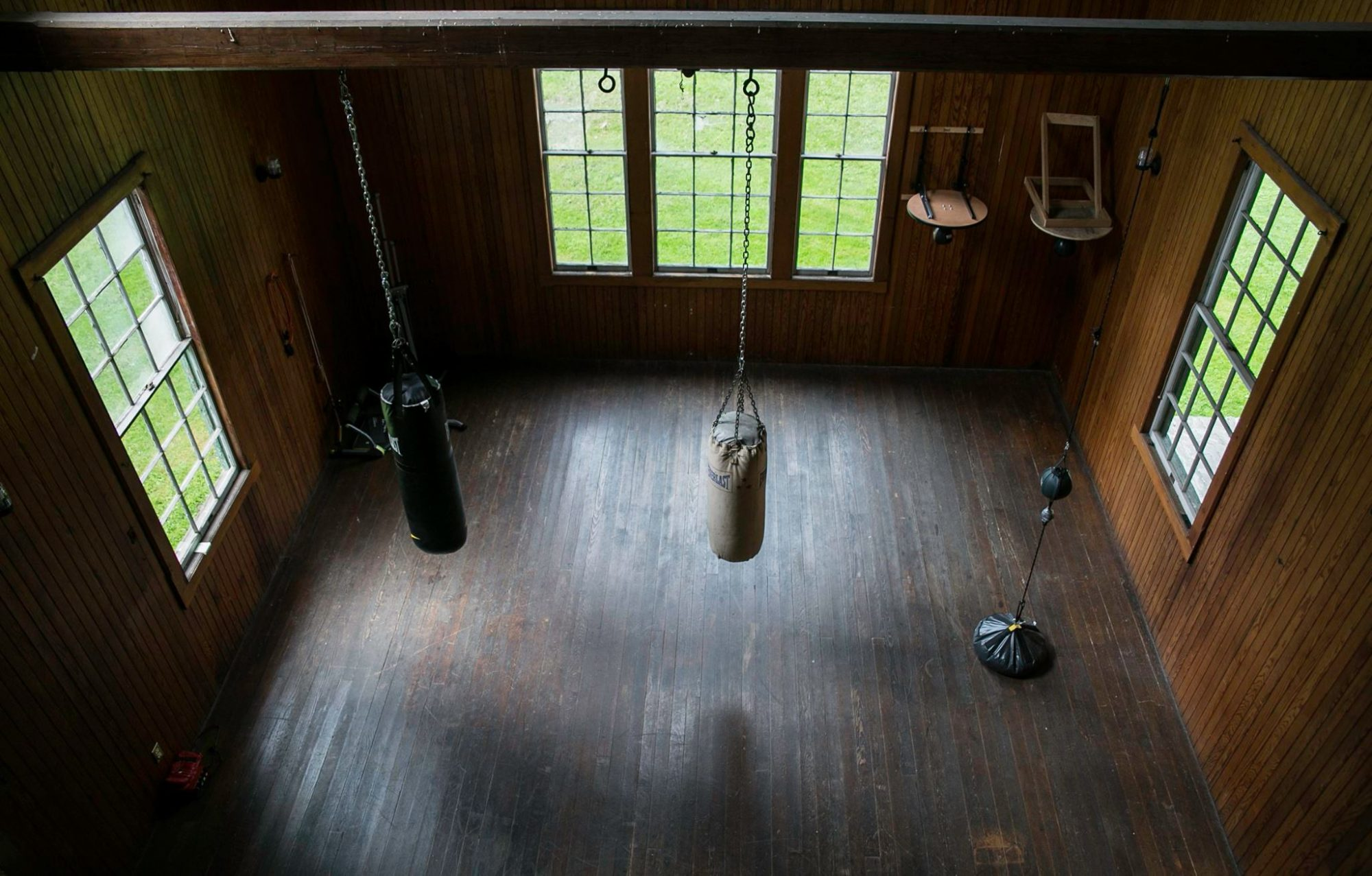 View of boxing class room at Clausen