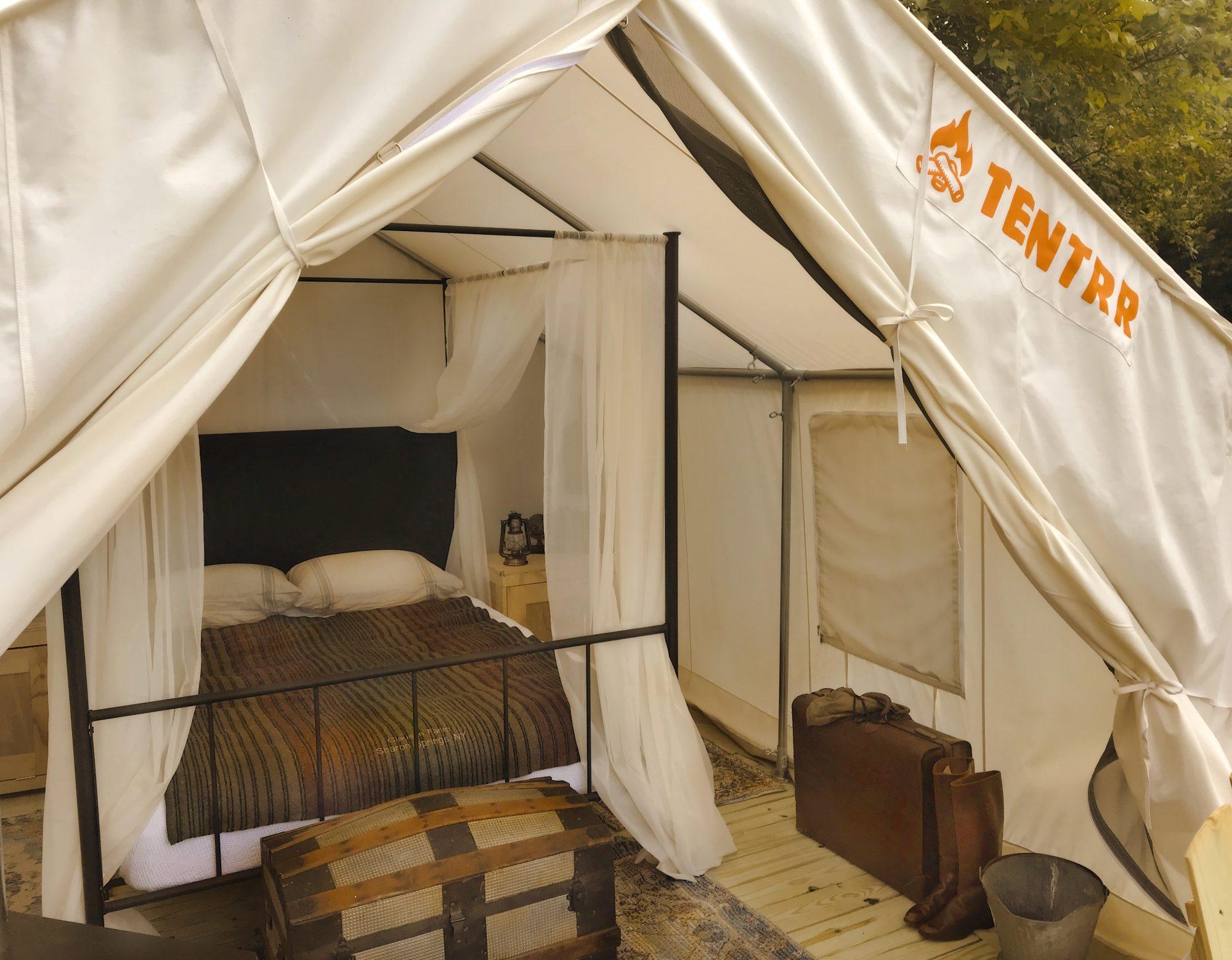 Clausen Farm tent